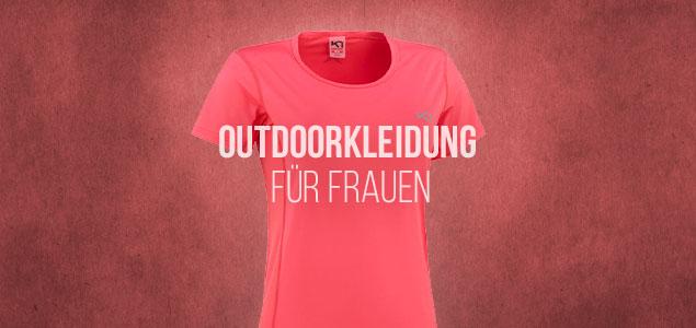 Outdoorkleidung für Frauen