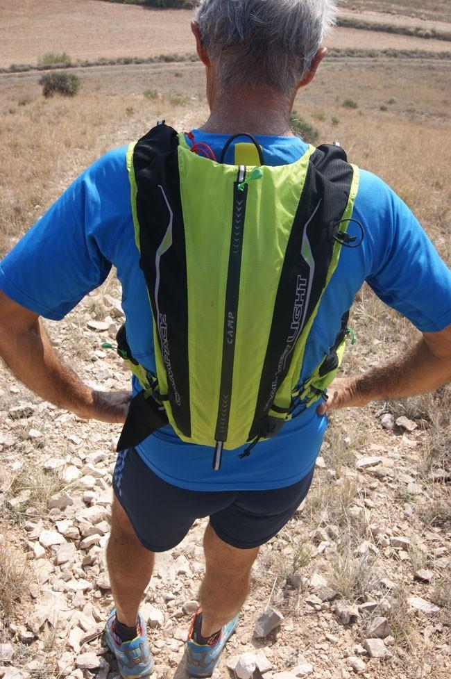 test du sac dos pour les courses de montagne trail vest light de la marque camp. Black Bedroom Furniture Sets. Home Design Ideas