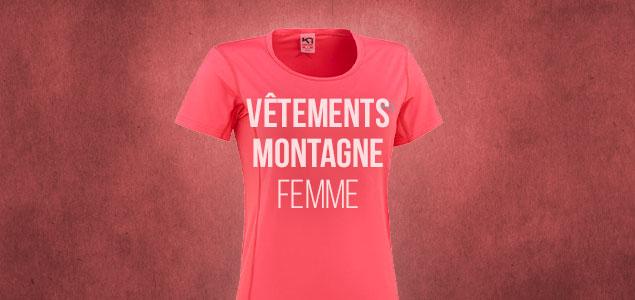 Vêtements Montagne Femme