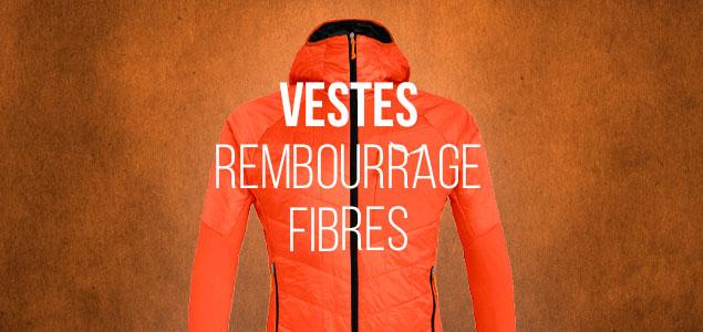 Vestes Rembourrage Fibres