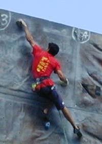 Daniel Andrada, uno de los mejores escaladores del panorama actual