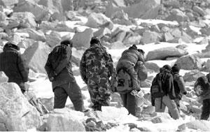 Foto: expedición inglesa al Cho Oyu
