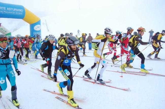 Ski Race Copa Norte