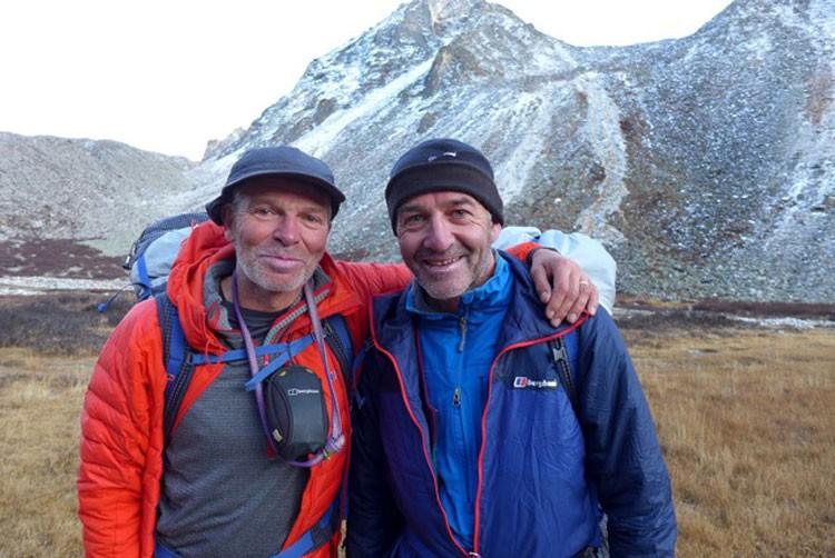 Mick Fowler y Paul Ramsden, Berghaus