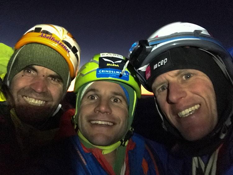 Thomas Huber, Roger Schaeli y Stephan Siegrist