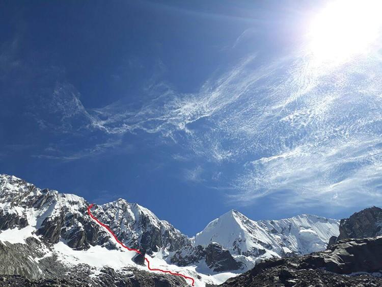 Ruta al Nevado Tunsho. Foto: Víctor Rímac