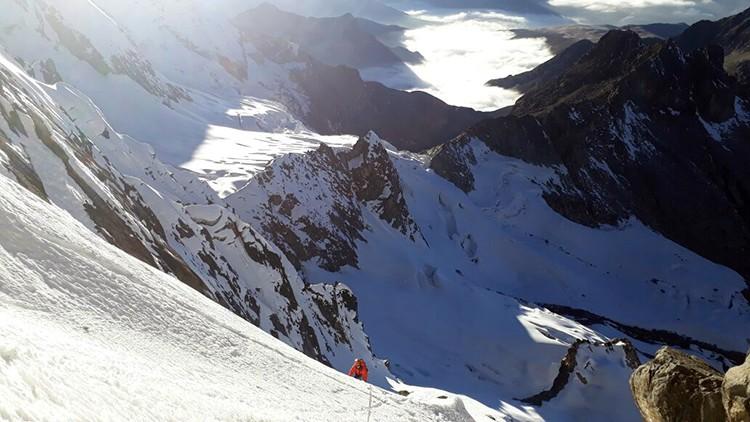Zona alta del Nevado Tunsho. Foto: Víctor Rímac