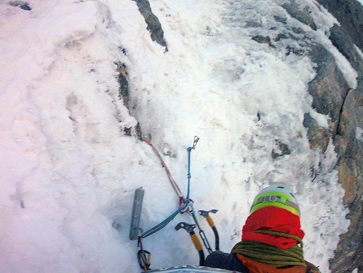 Seguro psicológico al Nevado Paca: Foto Pablo Laumann