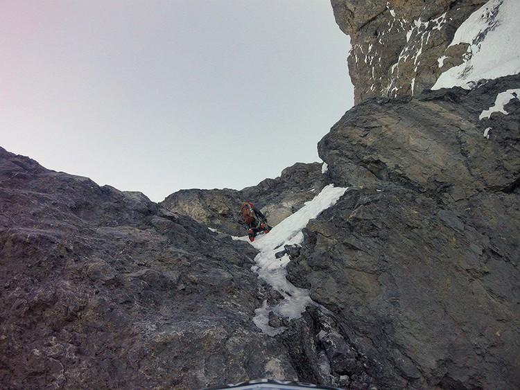 alada mixta en el Nevado Paca. Foto: Pablo Laumann