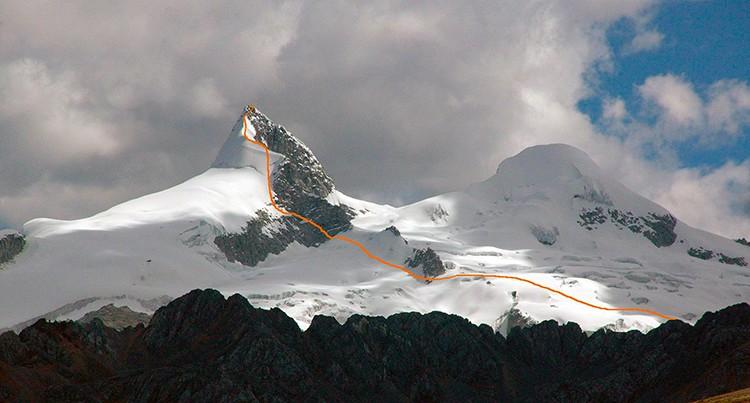 Ruta al Nevado Pariacaca. Foto: Marco Jurado