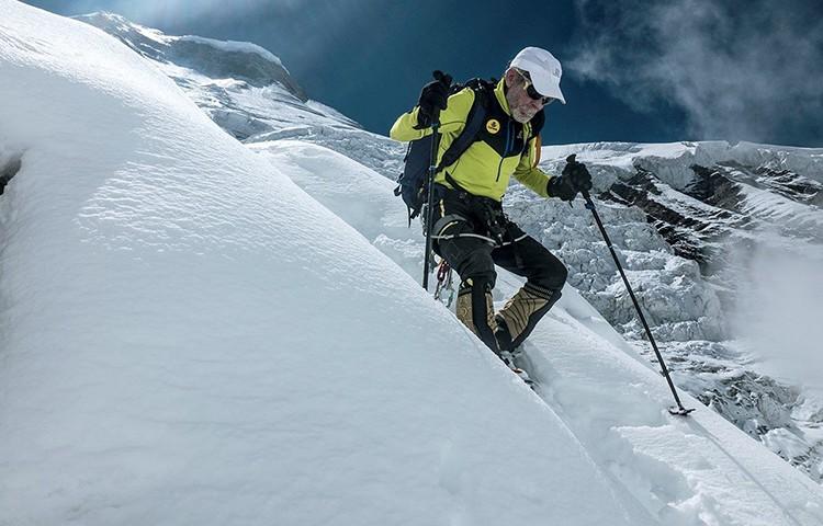 El exceso de nieve y el riesgo hacen abandonar a Carlos Soria en el Dhaulagiri. Foto: Expedición Cor