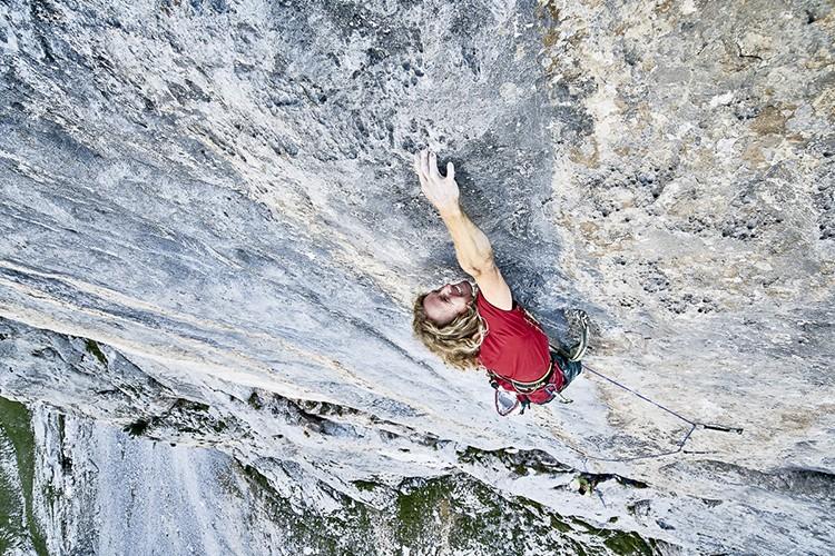 Michael Kemeter, Tortour, final del largo 4. Foto: ©Frank Kretschmann