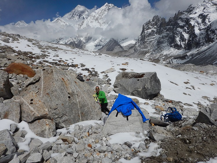 Valles poco explorados en el Khumbu