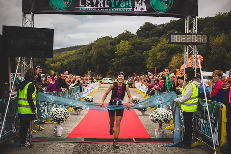 Laura Sola, vencedora Juan Miguëliz Leyre Trail