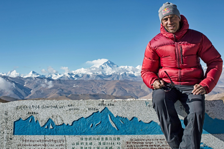 Valery Rozov, en el Everest. Foto: Redbull Content Pool
