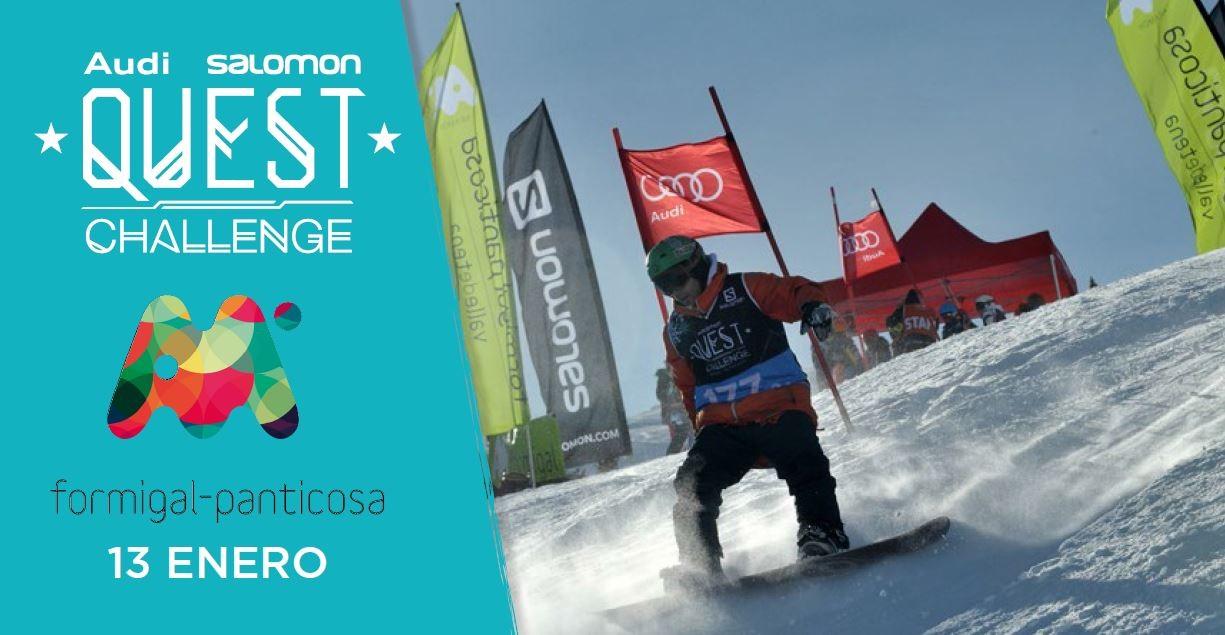 Salomon Quest Challenge de Formigal, 13-14 de enero
