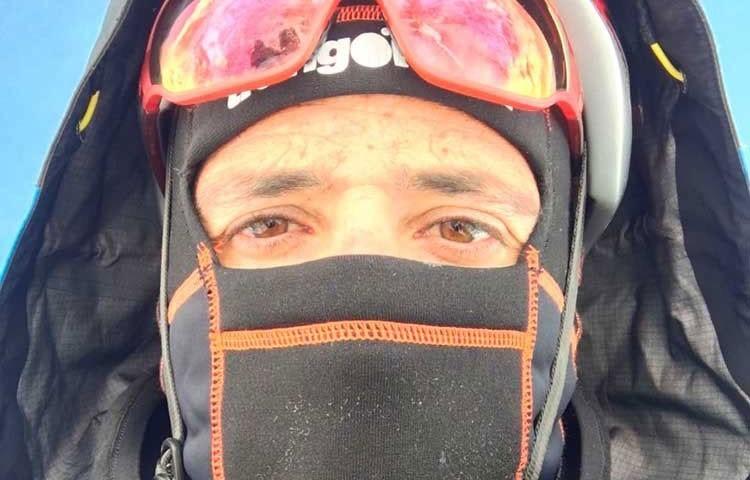 Alex Txikon, en el Everest invernal, el pasado invierno