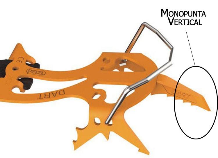 Crampón Monopunta Vertical