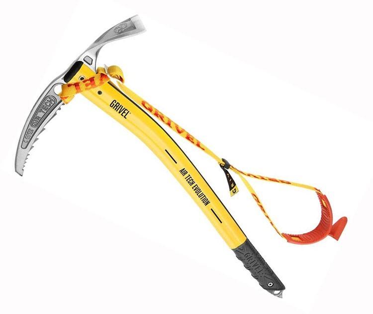 Piolet clásico para alpinismo de referencia: Air Tech de Grivel