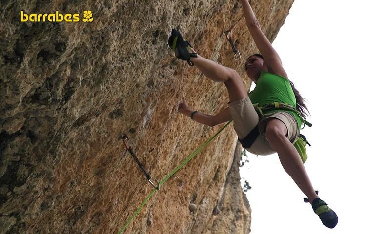 Cuerda dinámica para uso en simple: perfecta para escalada deportiva