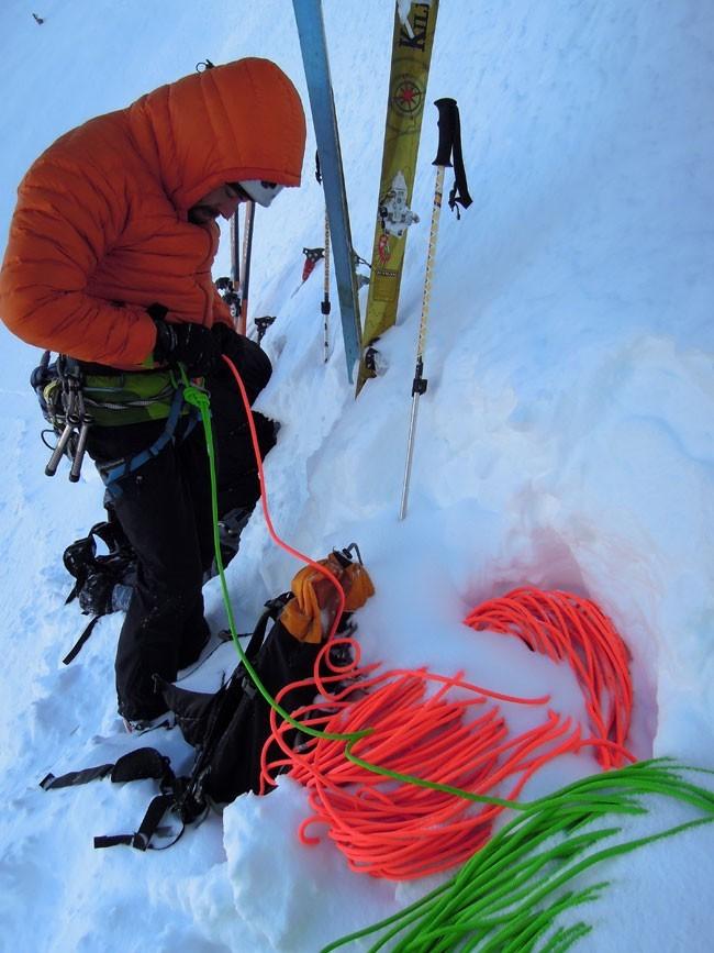Cuerdas dobles para alpinismo. Diferentes colores, necesario tratamiento Water Resistant