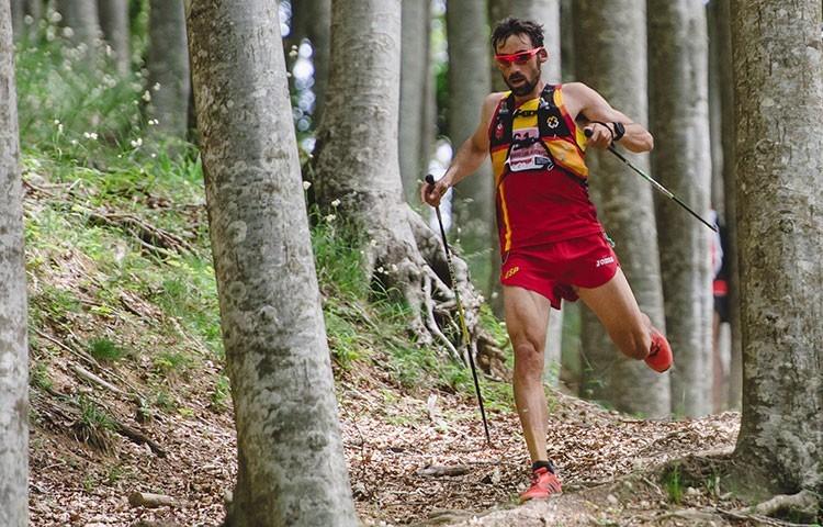 uis Alberto Hernando, en el Campeonato del Mundo 2017. Foto: Facco, trailsacredforests