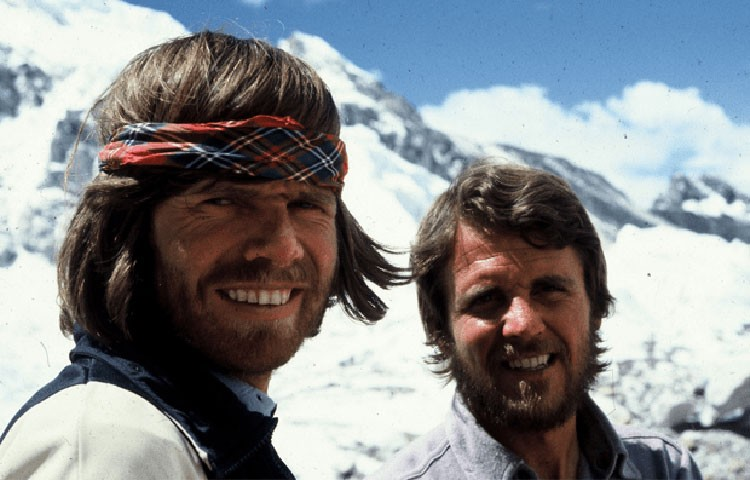 Reinhold Messner y Peter Habeler