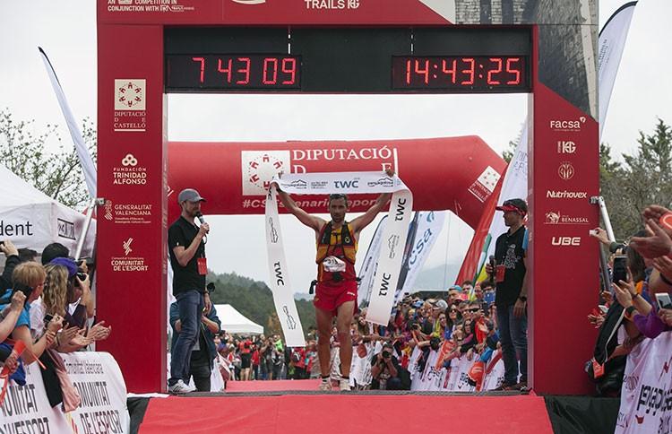 Luis Alberto Hernando, Campeón del Mundo de Trail Foto: Penyagolosa Trails HG