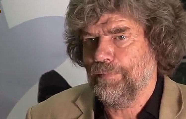 Reinhold Messner, Premio Princesa de Asturias del Deporte junto a Krzysztof Wielicki. Foto: Barrabes