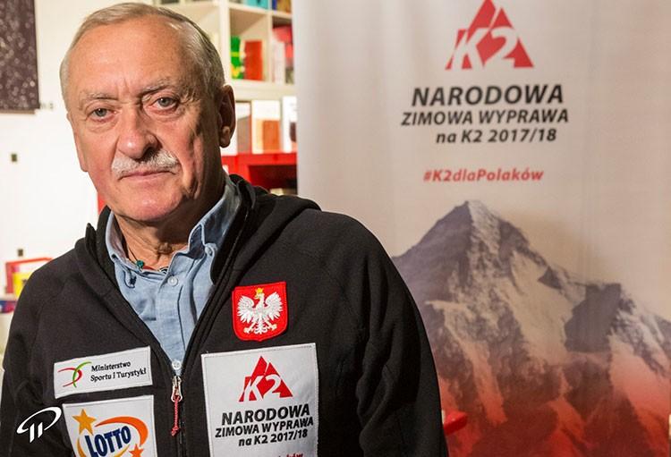 Krzysztof Wielicki. Foto: Polish Winter K2 Expedition