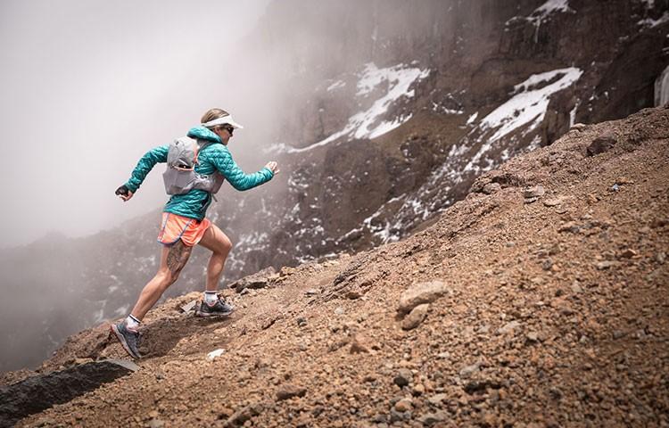 Fernada Maciel, récord ascenso-descenso Kilimanjaro