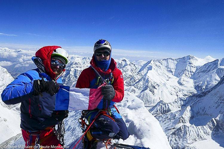 Los miembros del GMHM, en la cima del Changabang. Foto: GMHM
