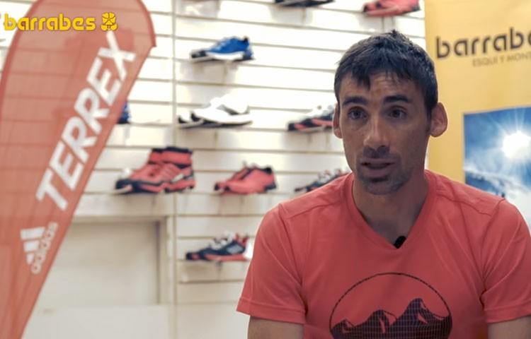 Luis Alberto Hernando, en Barrabes Benasque. Consejos Maratón de las Tucas