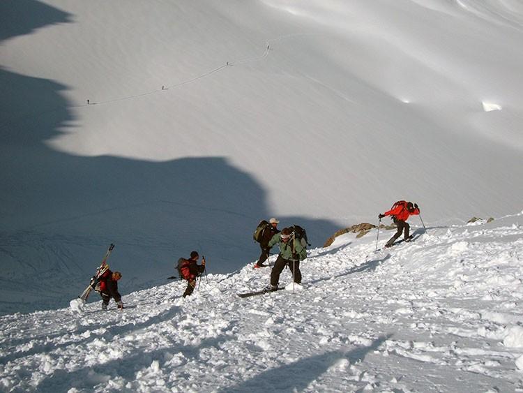 Subida al Col du Mont Brule