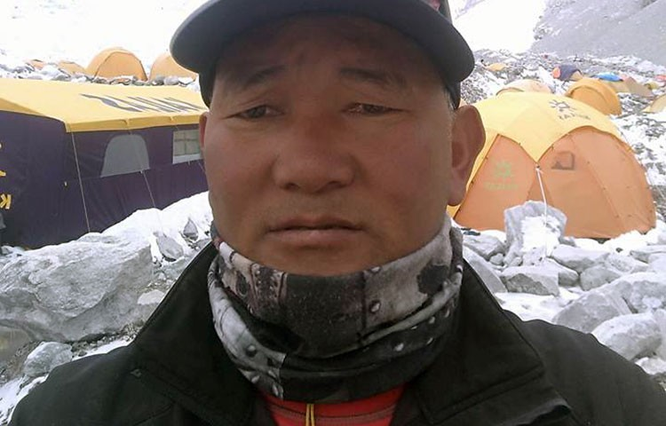 Búsqueda de Pemba Sherpa en el Saser Kangri. Foto: Pemba Sherpa