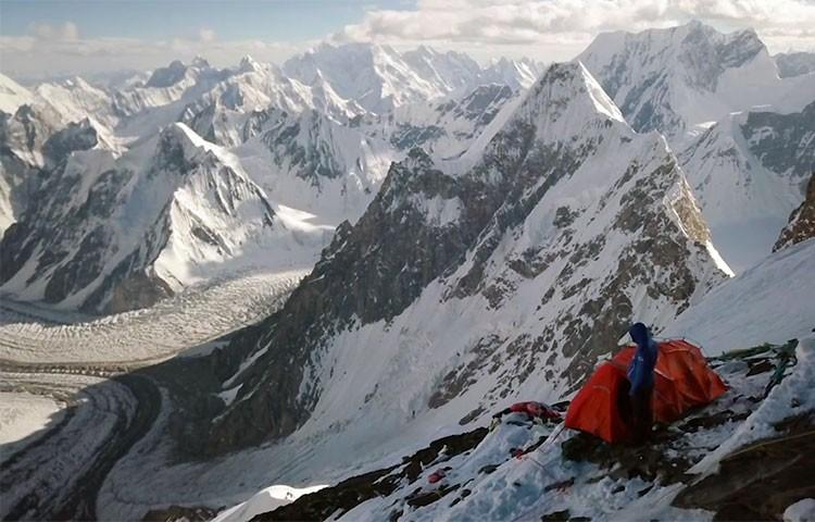 El K2 a vista de dron. Foto: Bartek Bargiel