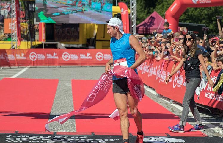 Kilian Jornet vence en Comapedrosa. Foto: Anna Olea
