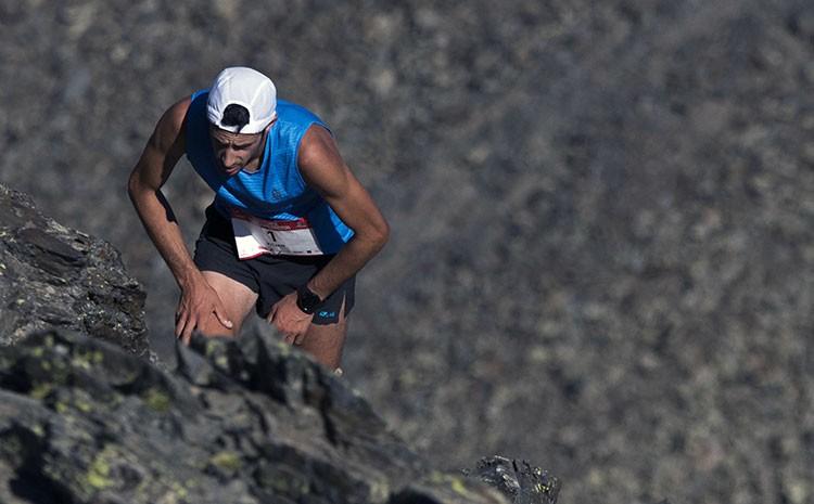 Kilian Jornet en Comapedrosa.  Foto: Skyrace Comapedrosa - Diego Escobedo
