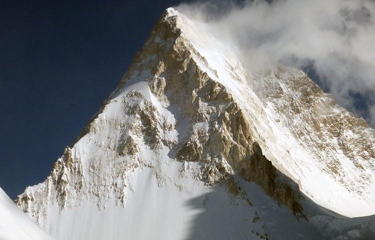 El Gasherbrum IV. el Pilar Sur, a la izquierda. Foto: Expedición Gasherbrum IV