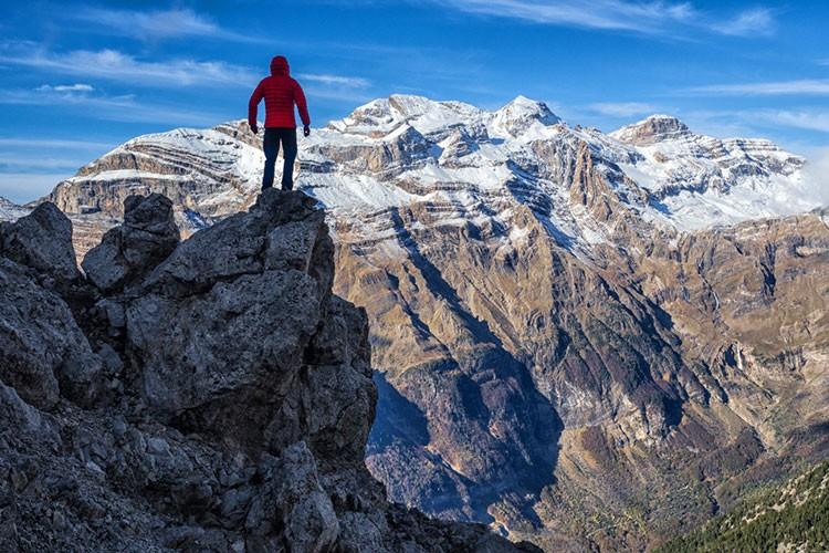 El Valle de Pineta, con Monte Perdido-Treserols. Foto: Javier Camacho