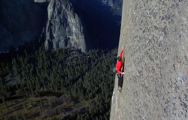 Dawn Wall, la película de la escalada de Tommy Caldwell y Kevin Jorgesson