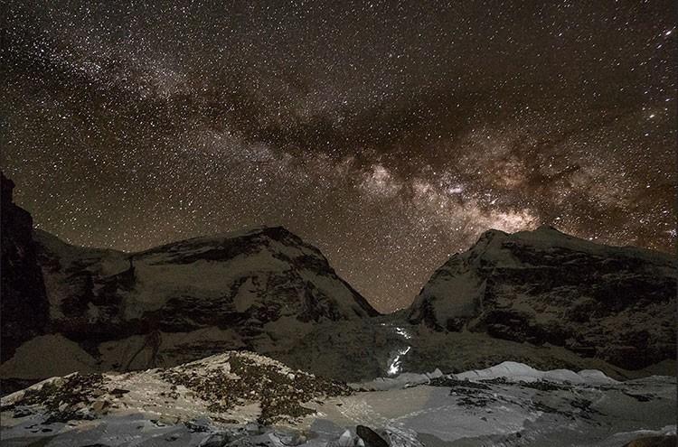 Javier Camacho, proyección Everest, Barrabes Barcelona