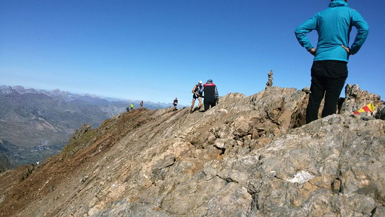 El Trail supera los 3.000m de altitud. Foto: Barrabes