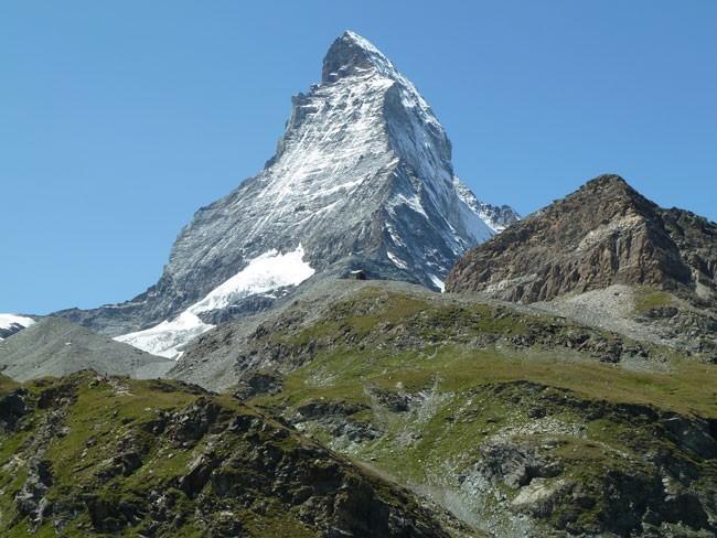 El Cervino o Matterhorn. Foto de Jonatan Larrañaga, Guía UIAGM, www.pirisur.com