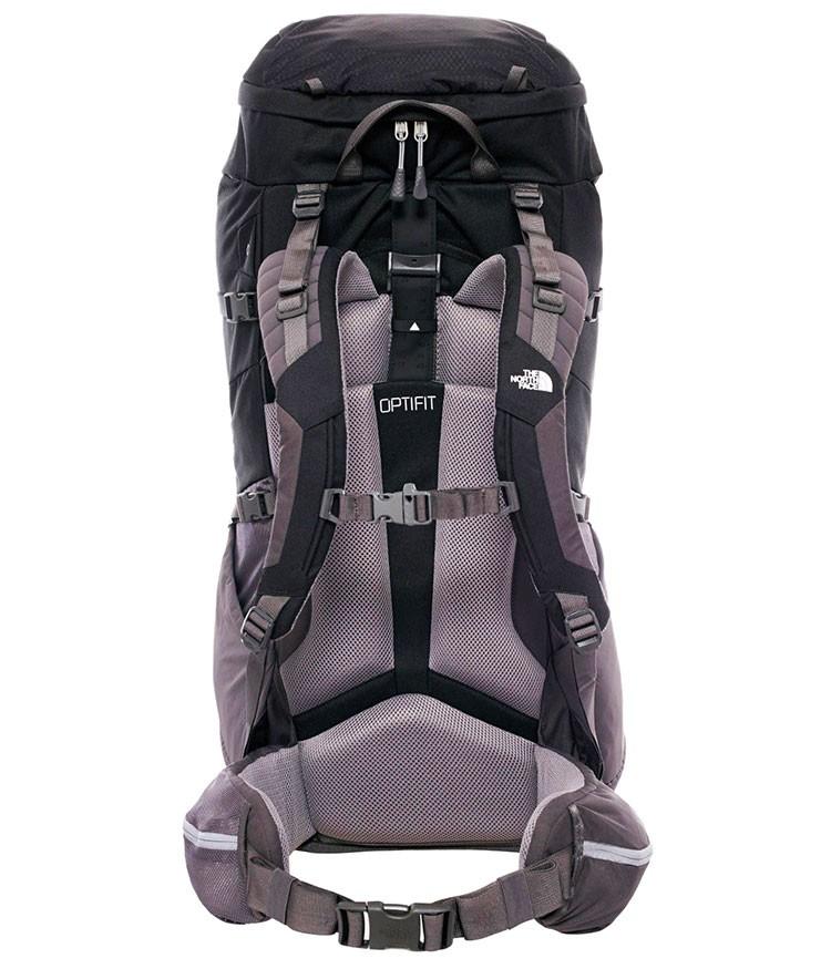 Cinturón lumbar, respaldo y tirantes de mochila The North Face Terra 65 litros