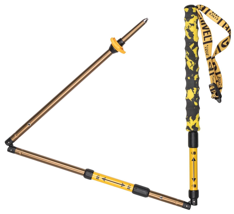 Grivel Trail 3, bastones plegables con sistema de bisagra
