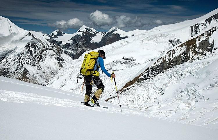 La nieve obliga a Carlos Soria a retirarse del Dhaulagiri. Foto: Yo subo con Carlos Soria