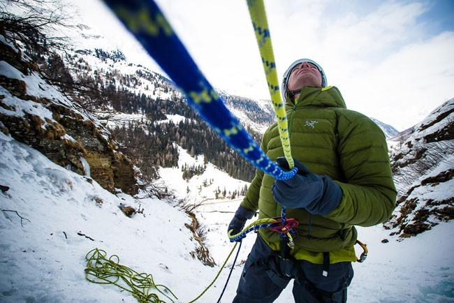 Los guantes, elementos fundamentales en invierno y nieve. Foto: Daniel Vega