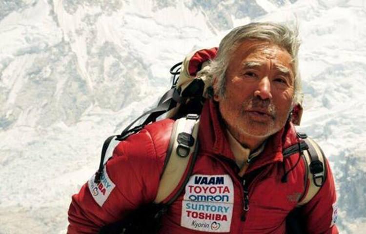Yuichiro Miura, de vuelta al Everest