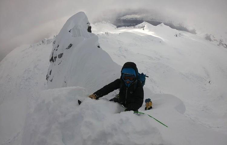 Llegando a cumbre de Cerro Akila. Foto: FFME
